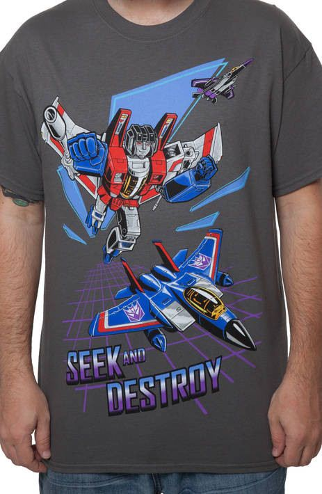 Starscream Seek and Destroy Shirt