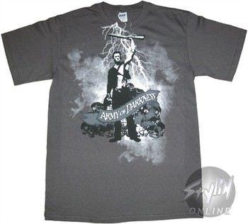 Army of Darkness Shotgun Lightning T-Shirt