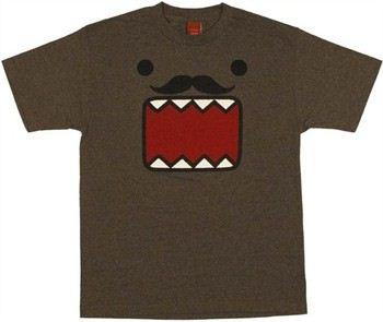 Domo-Kun Moustache Face T-Shirt