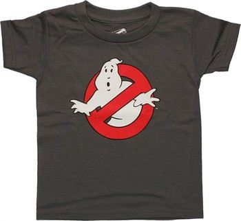 Ghostbusters Classic Logo Gray Toddler T-Shirt