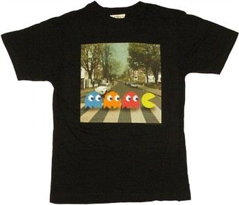 Namco Pac-Man Street Crossing T-Shirt Sheer