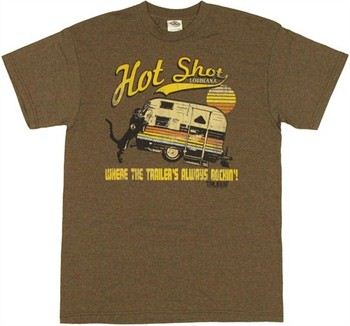 True Blood Hotshot Louisiana Where the Trailer's Always Rockin T-Shirt