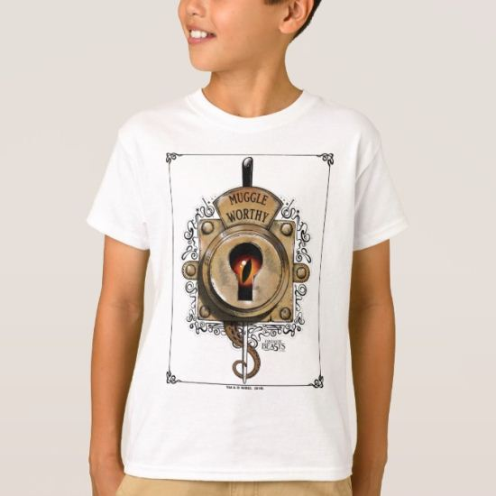 Muggle Worthy Lock With Fantastic Beast Locked In T-Shirt