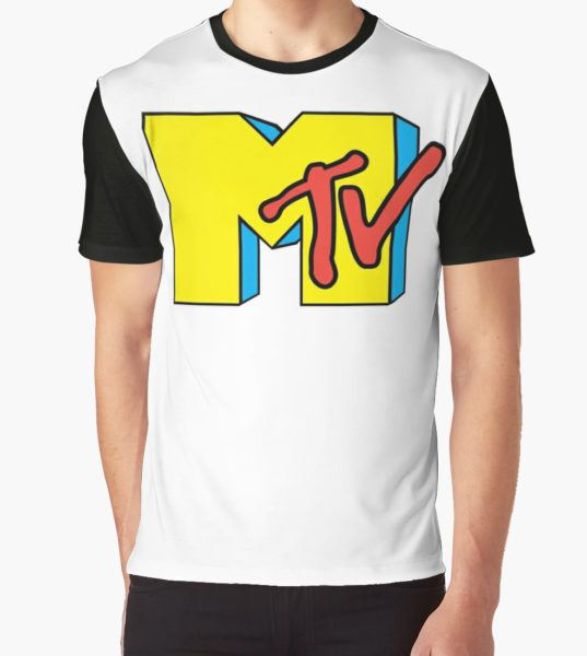 MTV Throwback 1 Graphic T-Shirt by cpugsley T-Shirt