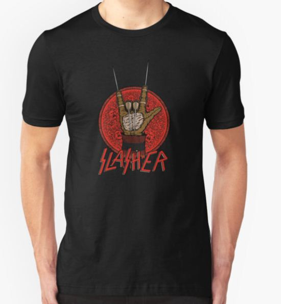 Slasher T-Shirt by pigboom T-Shirt