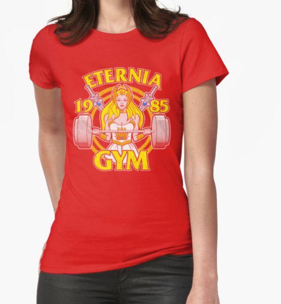 She-Ra Gym T-Shirt by jozvozdesign T-Shirt