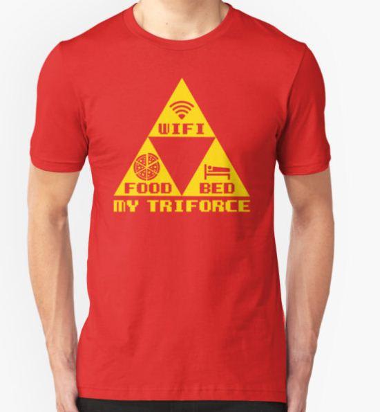 My Triforce T-Shirt by LillianLander T-Shirt