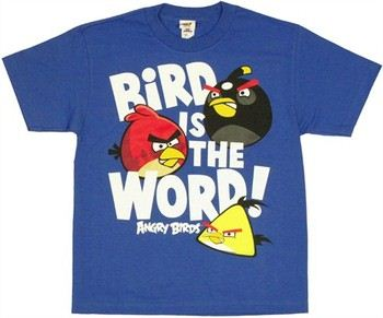 Angry Birds Bird is the Word Youth T-Shirt