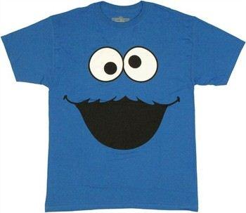 Sesame Street Cookie Monster Head T-Shirt