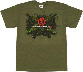 Gears of War 3 Crossed Lancers T-Shirt