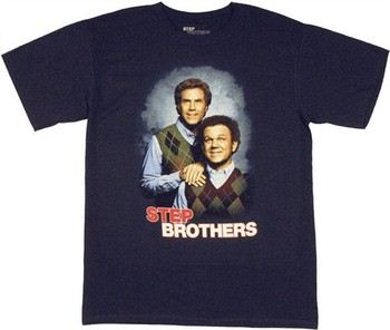 Step Brothers Movie Poster Photo Portrait T-Shirt