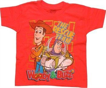 Disney Toy Story Rescue Team Orange Juvenile T-Shirt