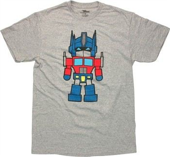 Transformers Optimus Prime Super Deformed T-Shirt