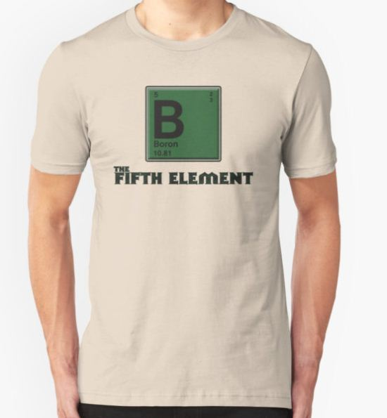 The Fifth Element T-Shirt by Rob Goforth T-Shirt