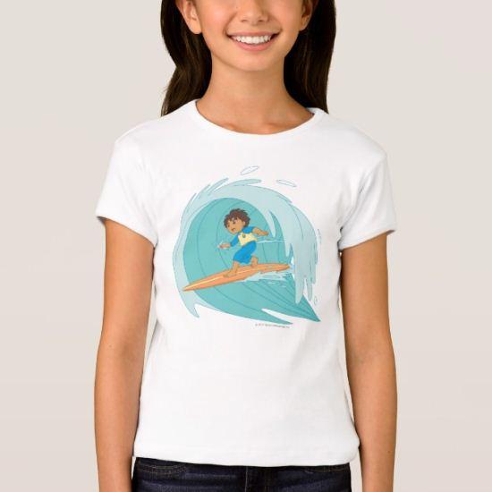 Go Diego Go!   Surf, Diego, Surf! T-Shirt