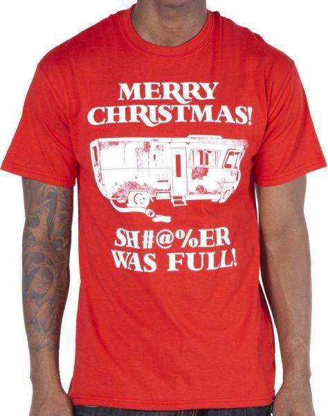 Christmas Vacation Shitter Was Full Shirt