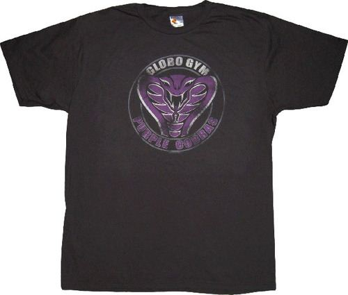 Dodgeball Globo Gym Purple Cobras T-shirt