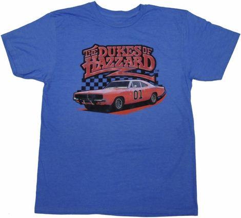 Dukes of Hazzard General Lee T Shirt Sheer