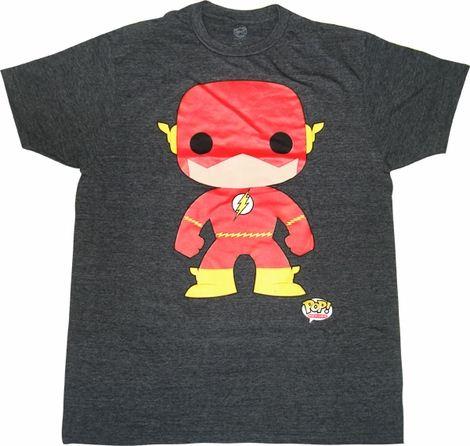 Flash Pop Heroes T Shirt Sheer