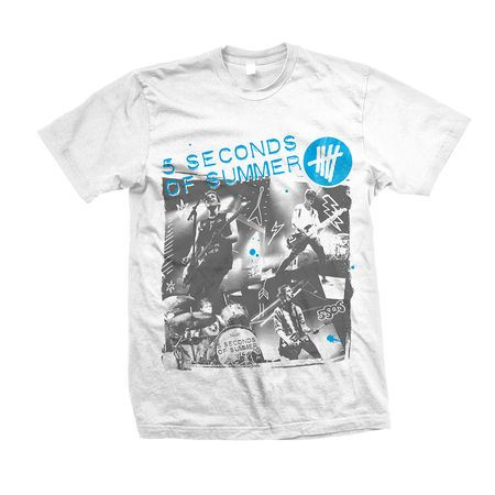 5 Seconds of Summer: 5SOS: Live Collage T-Shirt