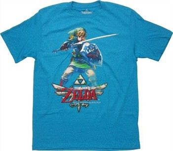 d0af84b1 ... Nintendo Legend of Zelda Skyward Sword Link Guard T-Shirt Sheer