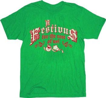 Seinfeld A Festivus for the Rest of Us Green Adult T-shirt