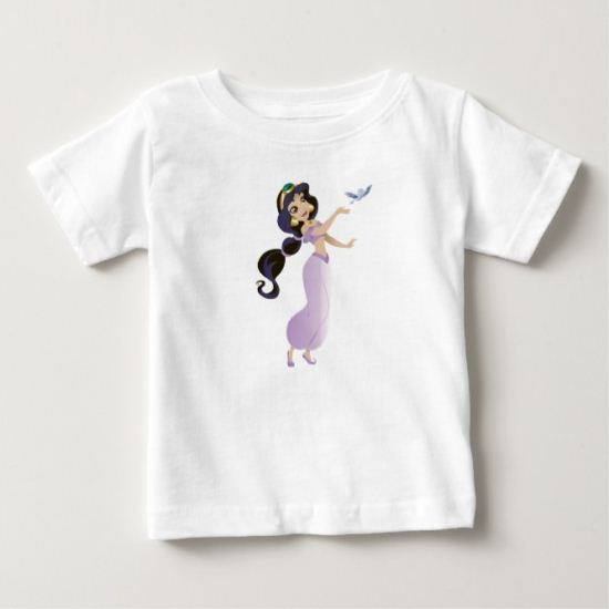 Aladdin Jasmine releasing setting free bird flying Baby T-Shirt