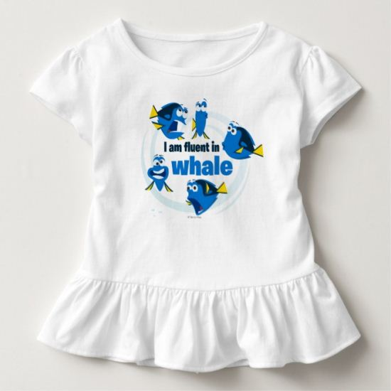 Dory   I am Fluent in Whale Toddler T-shirt