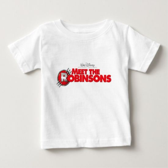 Logo from Meet The Robinsons  Disney Baby T-Shirt