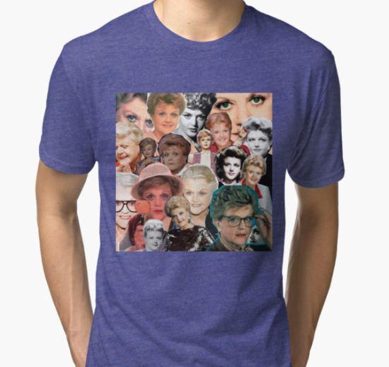 Dial M for Murder She Wrote Tri-blend T-Shirt by Rhys Nicholson T-Shirt