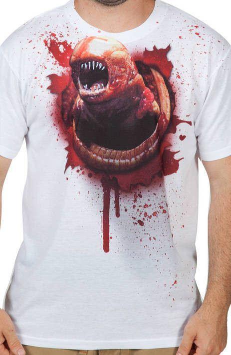 Alien Bursting Sublimation Shirt