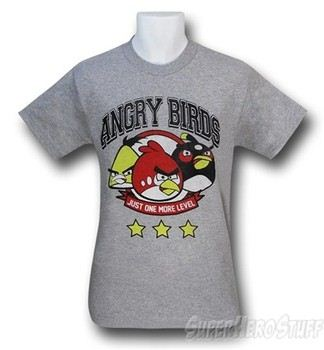 Angry Birds One More Level T-Shirt