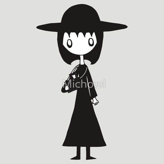 Lydia from Beetlejuice  by Michowl T-Shirt
