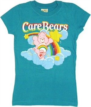 Care Bears Cheer Bear Rainbow Baby Doll Tee