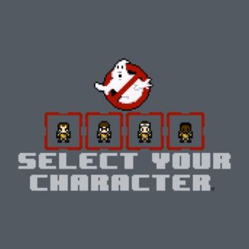 GHOSTBUSTERS SELECT SCREEN