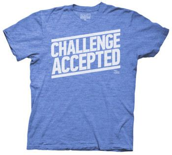 How I Met Your Mother - Challenge Accepted Type (Slim Fit)