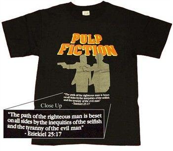Pulp Fiction Ezekiel T-Shirt