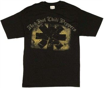 Red Hot Chili Peppers Asterisk Logo T-Shirt