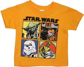 Hero Boxes - Star Wars Toddler T-shirt