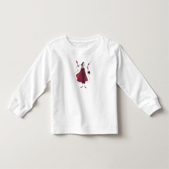 101 Dalmations' Cruella de Vil Disney Toddler T-shirt