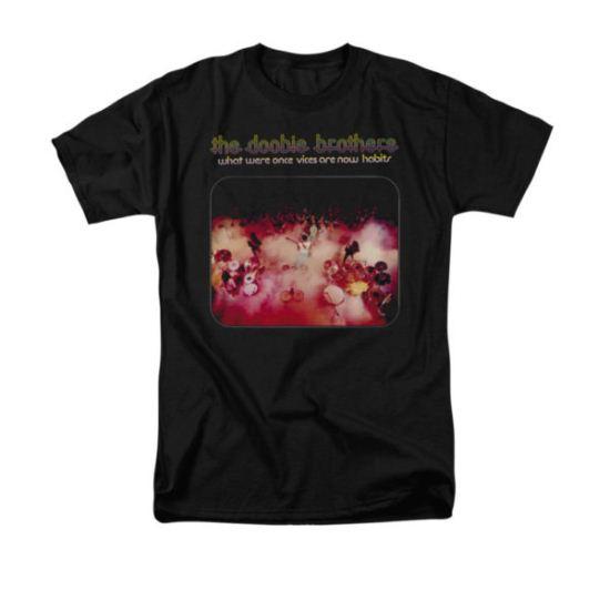 The Doobie Brothers Shirt Habits Black T-Shirt