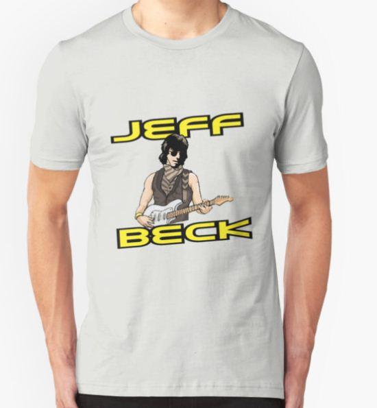 Jeff Beck T-Shirt by slightlykosher T-Shirt