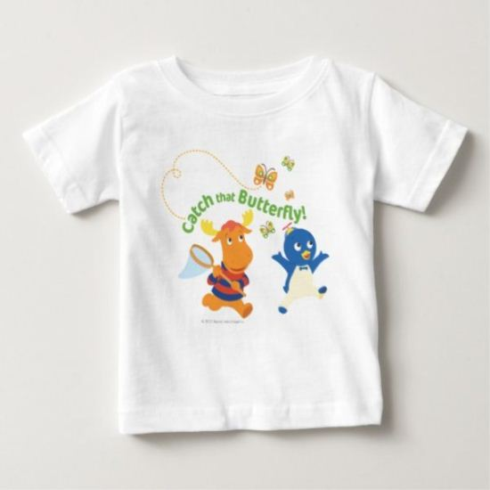 The Backyardigans | Catch That Butterfly Baby T-Shirt