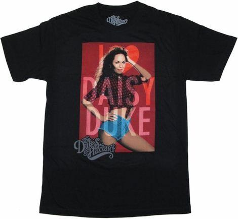 Dukes of Hazzard Daisy T Shirt Sheer
