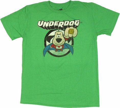 Underdog Punch T Shirt Sheer