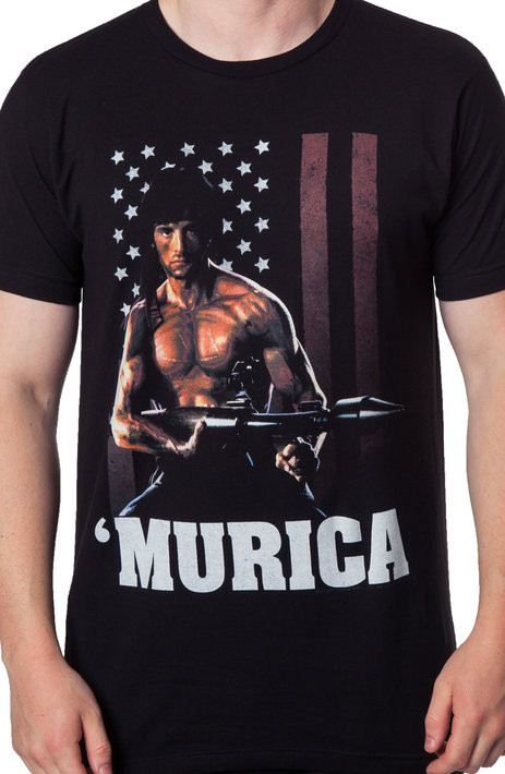 Rambo Murica T-Shirt