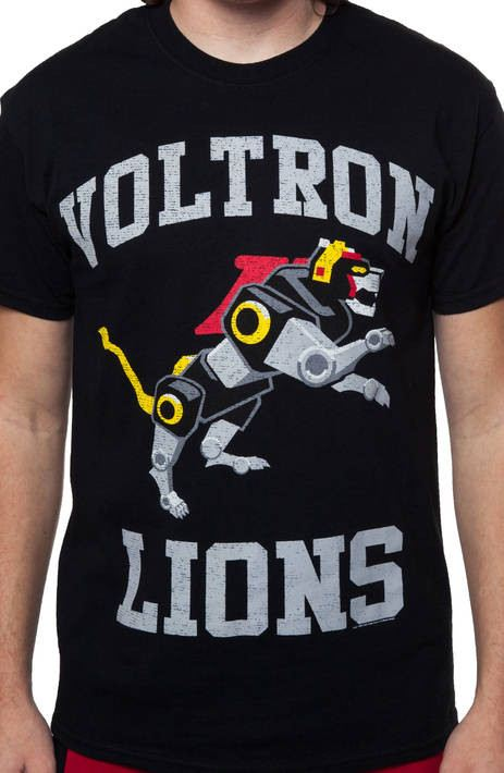 Voltron Lions Logo Shirt