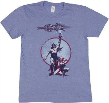 Conan the Barbarian Movie Poster T-Shirt Sheer