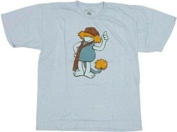 Fraggle Rock Boober Jersey Youth T-Shirt