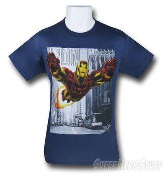 Iron Man Uptown Flight T-Shirt